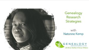 Genealogy Research Strategies with Natonne Kemp image