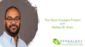 The slave voyages project with Dr Nafees Khan