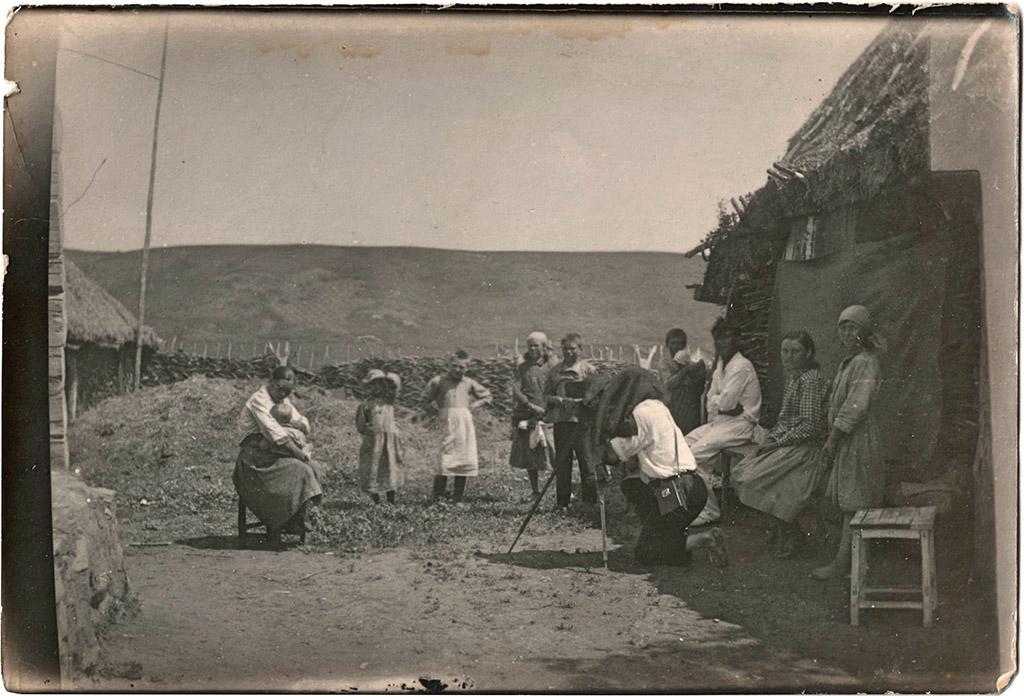 Съемка в селе Дмитриевское