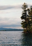 A view of Lake Winnipesaukee from the shores of Camp Kabeyun