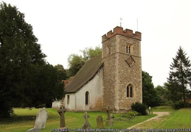St Mary, Little Wymondley