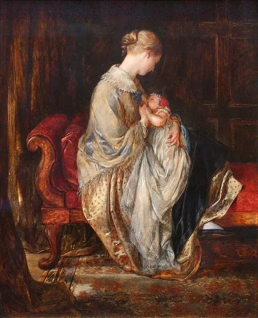 The Young Mother by Charles West Cope