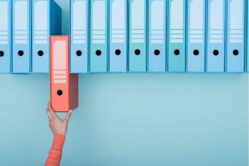 Organised files representing how organisation can break genealogy dead ends