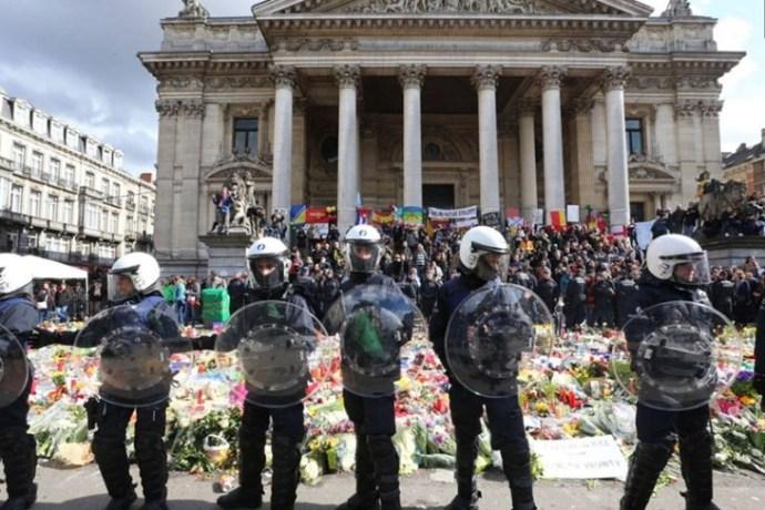 Brusel: Vlastenci narušili shromáždění pacifistů