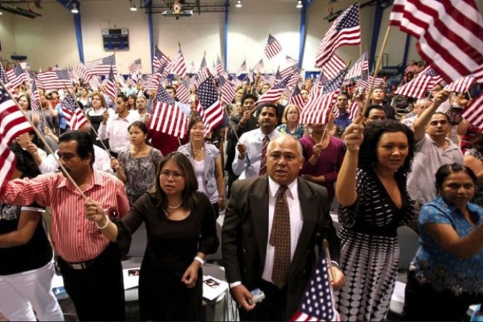 Legální imigranté, USA