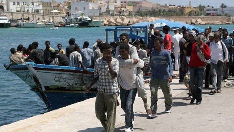 """""""Mladiství bez doprovodu"""" z Eritreje"""