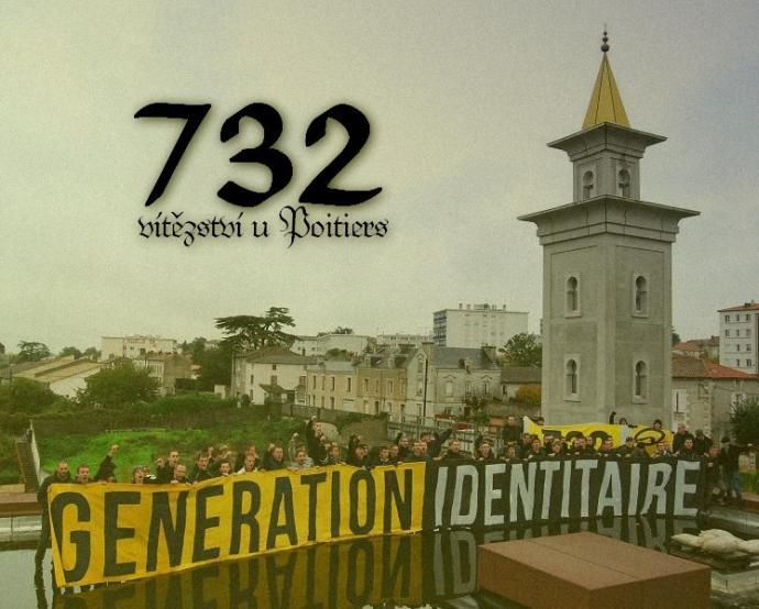 Generace Identity Poitiers 732