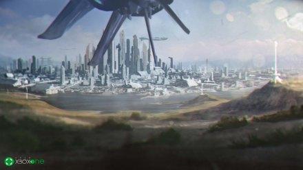 Halo Spartan Assault Xbox One Cinematic Still 01