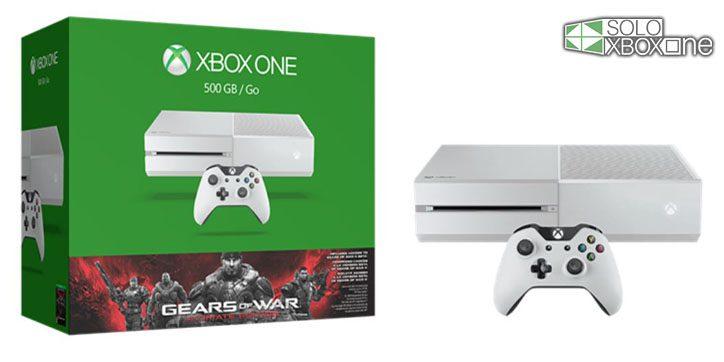 Anunciado Pack Xbox One Color Blanco Gears Of War