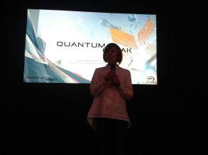 Lidia Pitzialis sobre el escenario