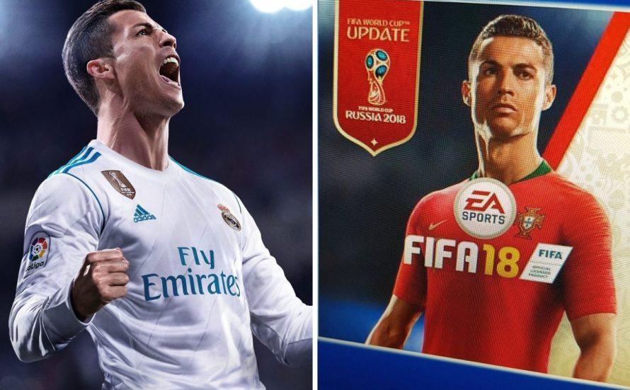 FIFA 18 se actualizará con FIFA 18 World Cup, de forma gratuita y con cambio de portada