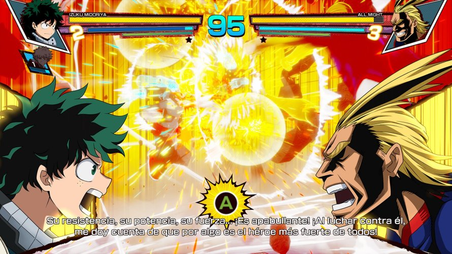 Análisis My Hero One's Justice