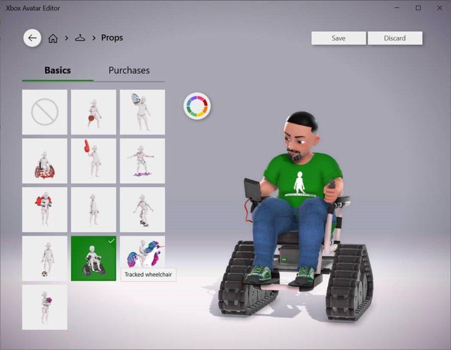 Avatares de Xbox