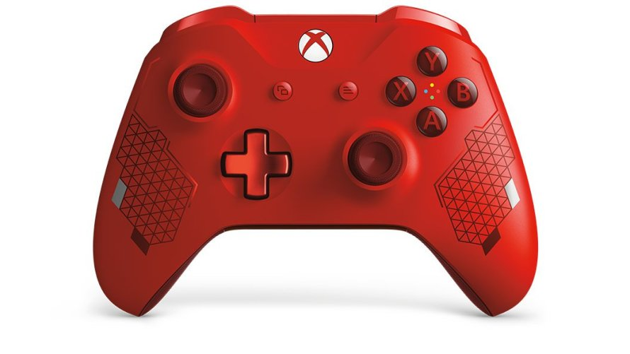 Xbox Controller Sport Red Special Edition