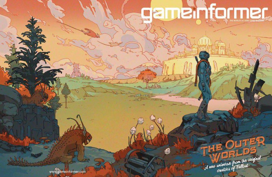 The Outer Worlds es portada de Game Informer