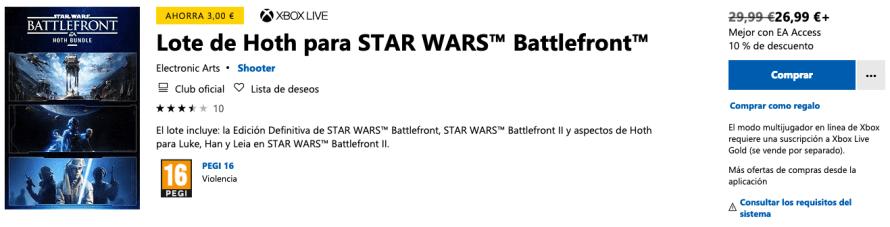STAR WARS Battlefront: Hoth Bundle