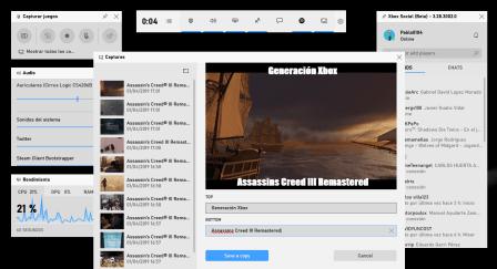 Editar una imagen desde la Barra de Juego de Windows 10