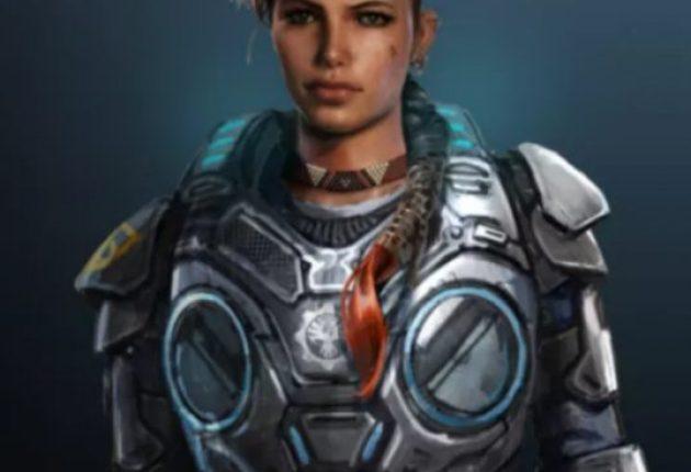 Se filtra un arte del nuevo look de Kait en Gears 5