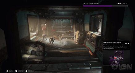 Vista previa del mapa creado de Gears 5