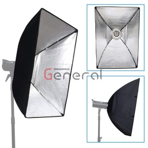 Softbox 70x100cm Rectangular Softbox with Bowens Mount Speedring and Bag By General Softbox 70x100cm Rectangular Softbox with Bowens Mount Speedring and Bag By General soft box 60x90 by general 3 300x300