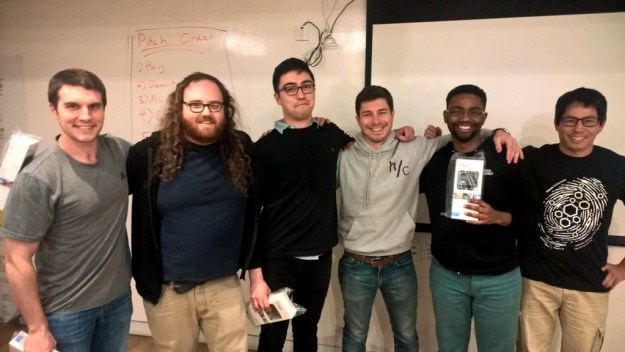 android hackathon first place