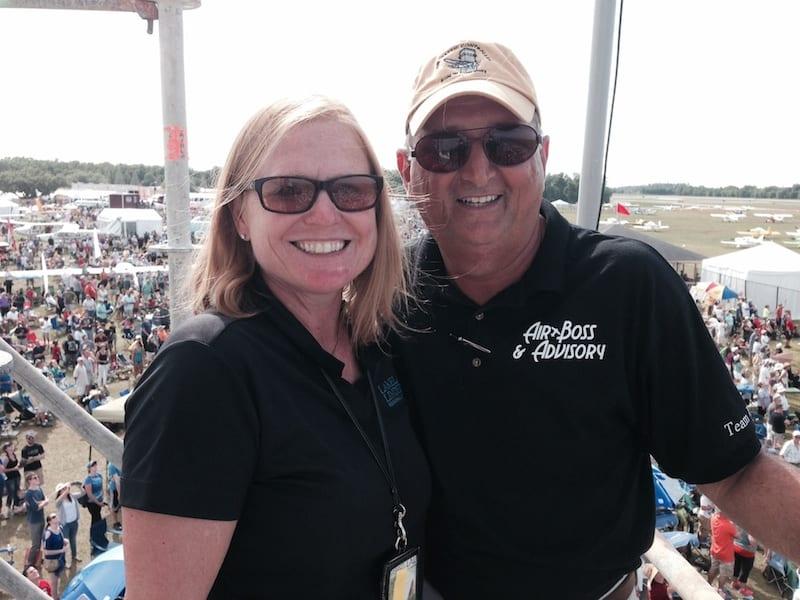 Nan and John Walsh of Air Boss and Advisory