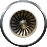 Rainier Flight Service Turbojet badge