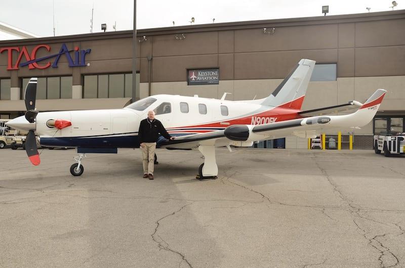 Brian Jones, TBM sales director for Keystone Aviation