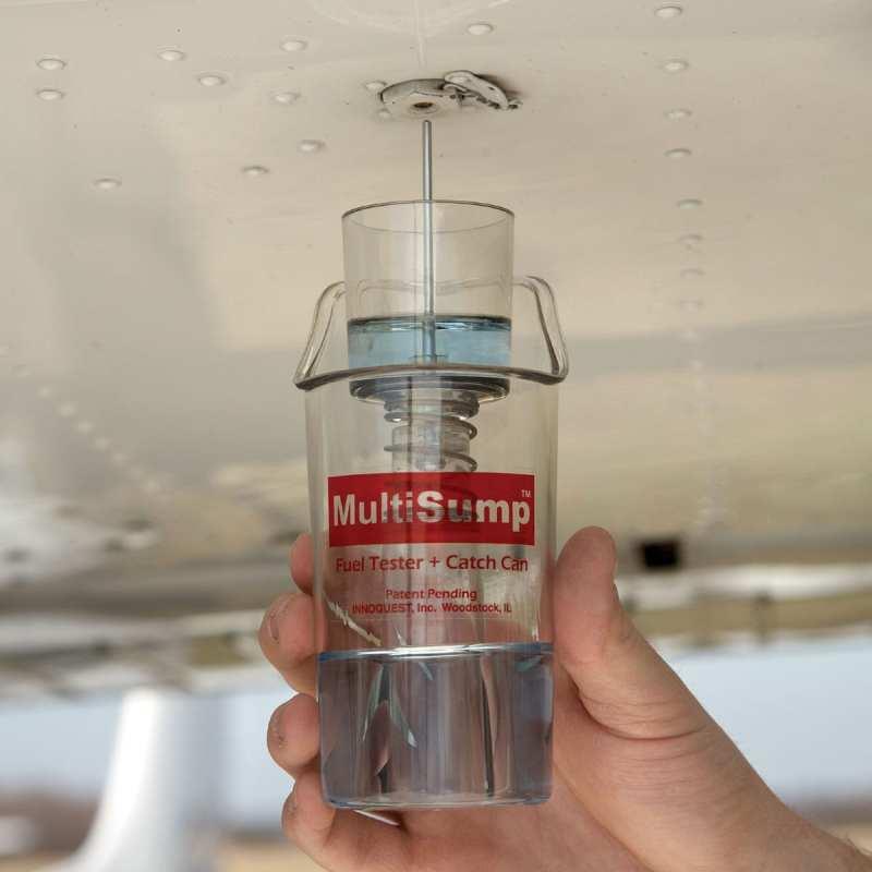 Fuel sump. (Photo courtesy Sporty's)
