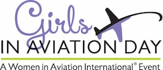 Girls in Aviation day logo