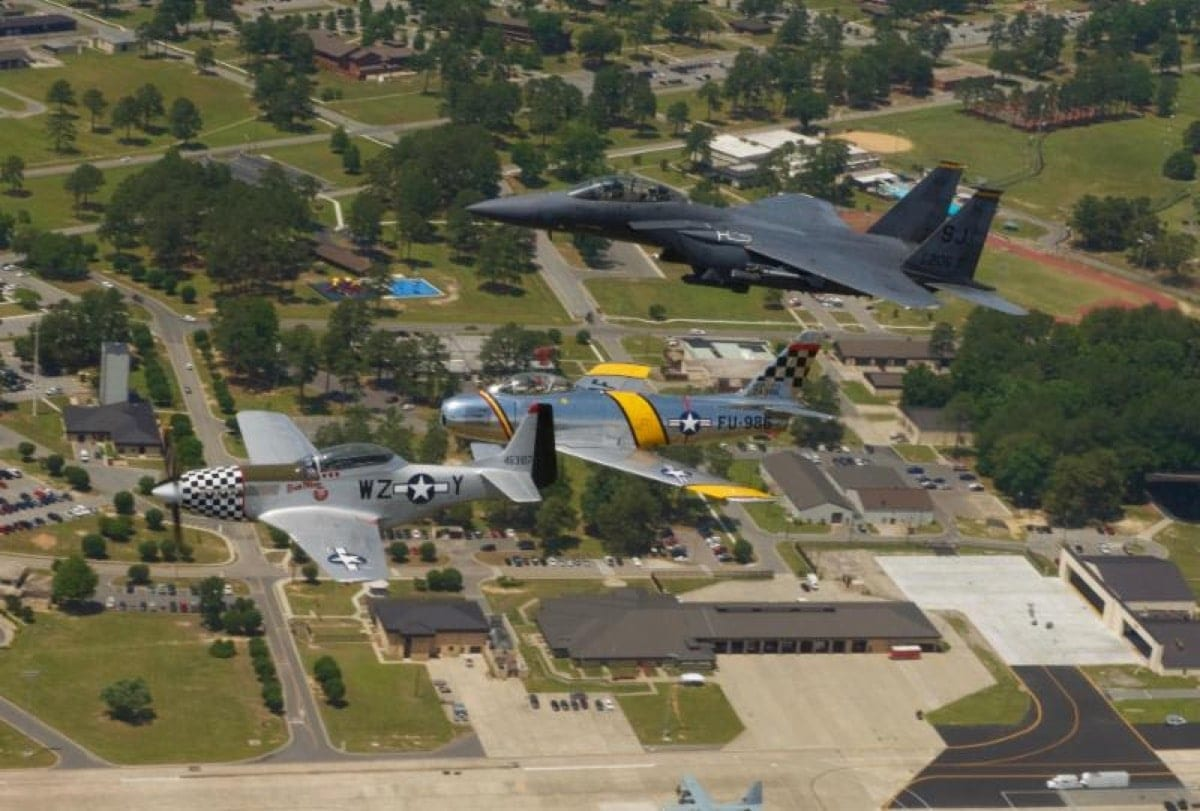 Seymour Johnson Afb Air Show Attracts Record Crowd