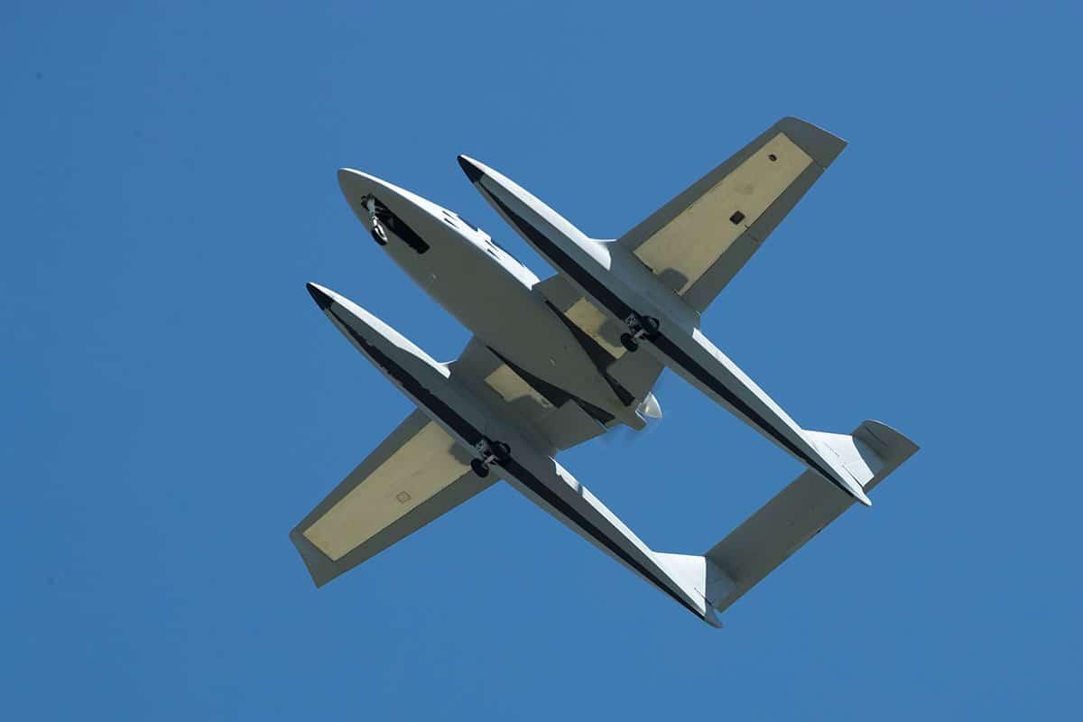 Privateer's inaugural flight. Photo by Matt Genuardi/Genuardi Media.