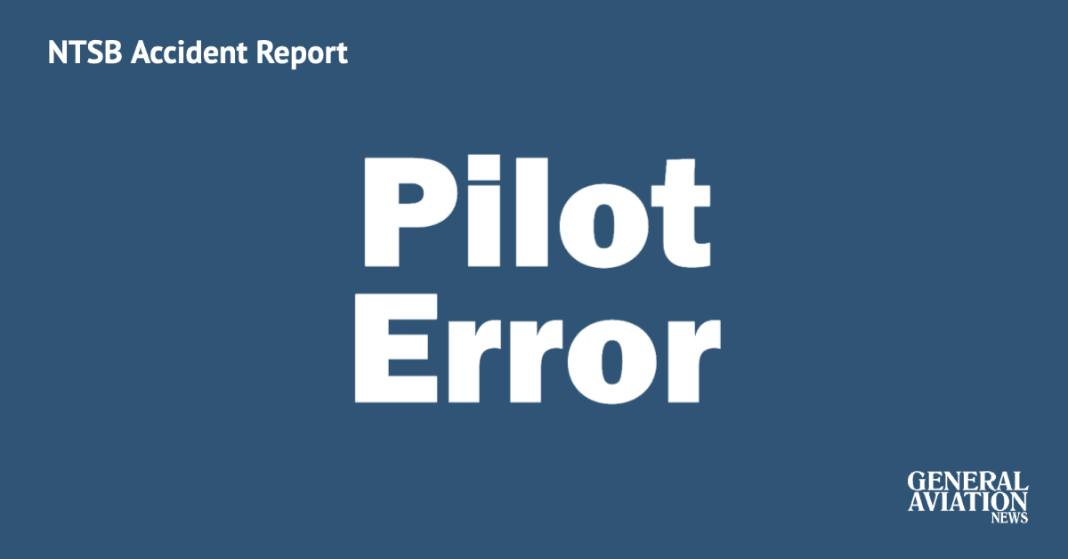 Plane lands gear up when pilot fails to complete landing checklist