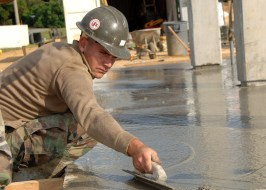 General Chipping delves into concrete technology