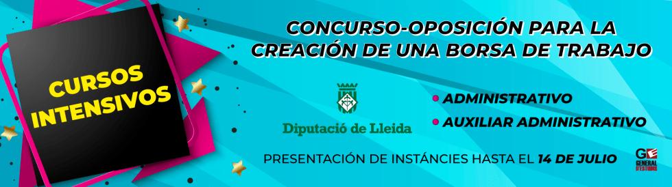 Borsa Trabajo Diputación de Lleida