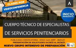 Oposiciones Penitenciarios