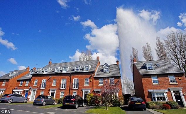 pressure causing water main burst