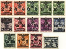 Przedruki na znaczkach z serii 20-lecie Niepodległości