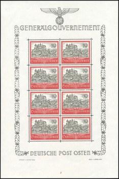 Arkusik ozdobny znaczka Mi. 65