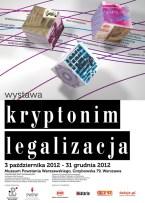 plakat wystawa akcja legalizacja