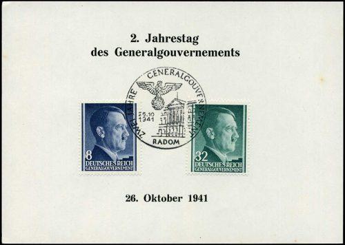Kasownik nr 17 - Zwei Jahre Generalgouvernement Radom 1941r.
