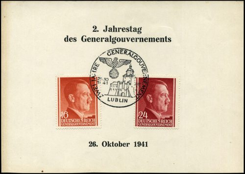 SST Kasownik nr 16 - Zwei Jahre Generalgouvernement Lublin 1941