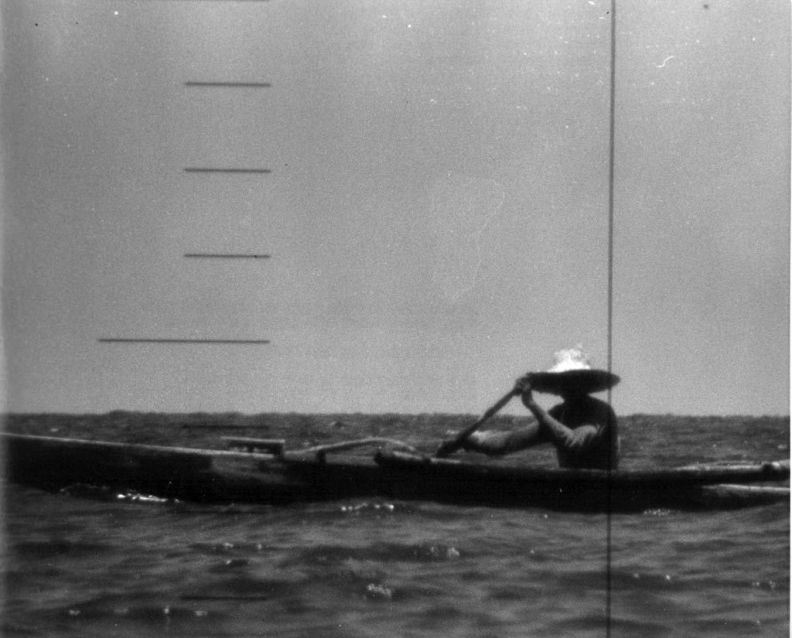 Rufino Baring spots the USS Triton. He would be the only civilian to sight the submarine on its underwater circumnavigation of the world.