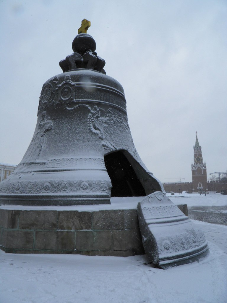 Tsar Bell in winter, Moscow