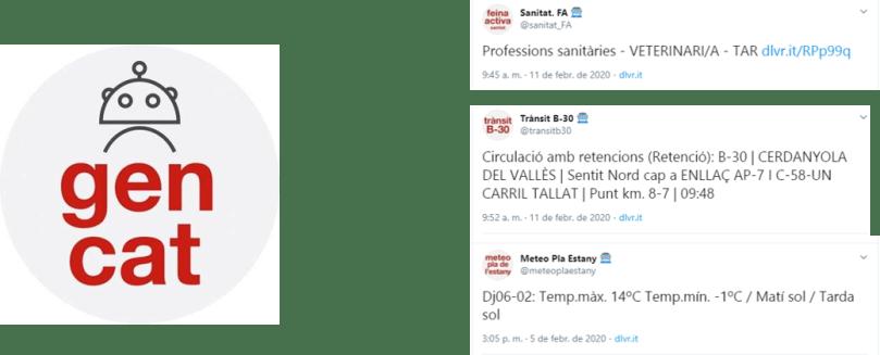 Canals automatitzats a Twitter