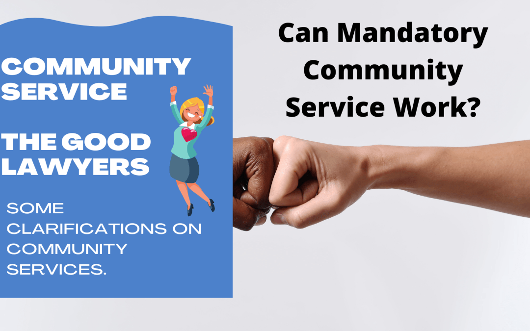 Some Clarifications On Community Services.