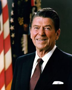 President Reagan's Official Portrait
