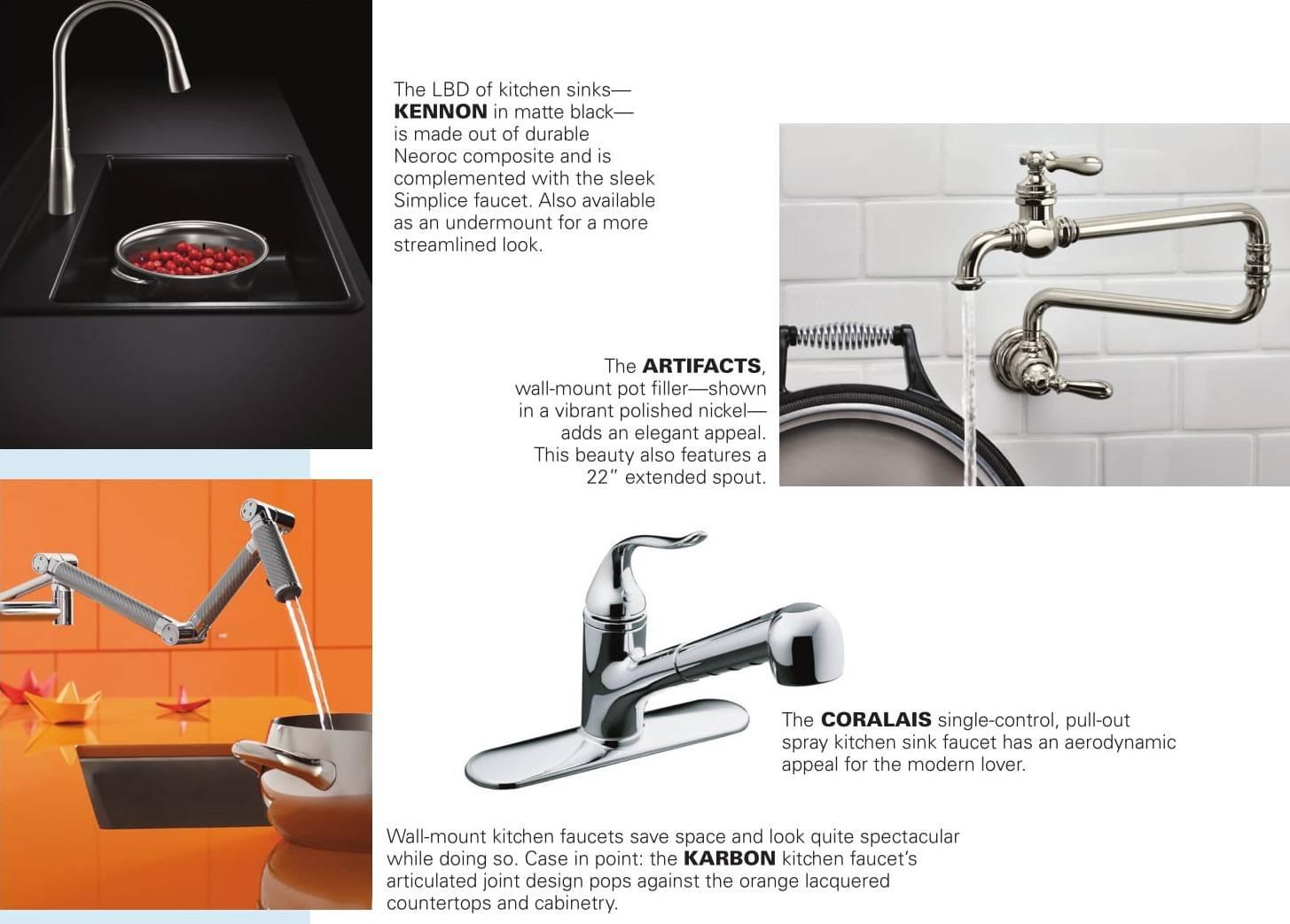 general plumbing supply kitchen faucet