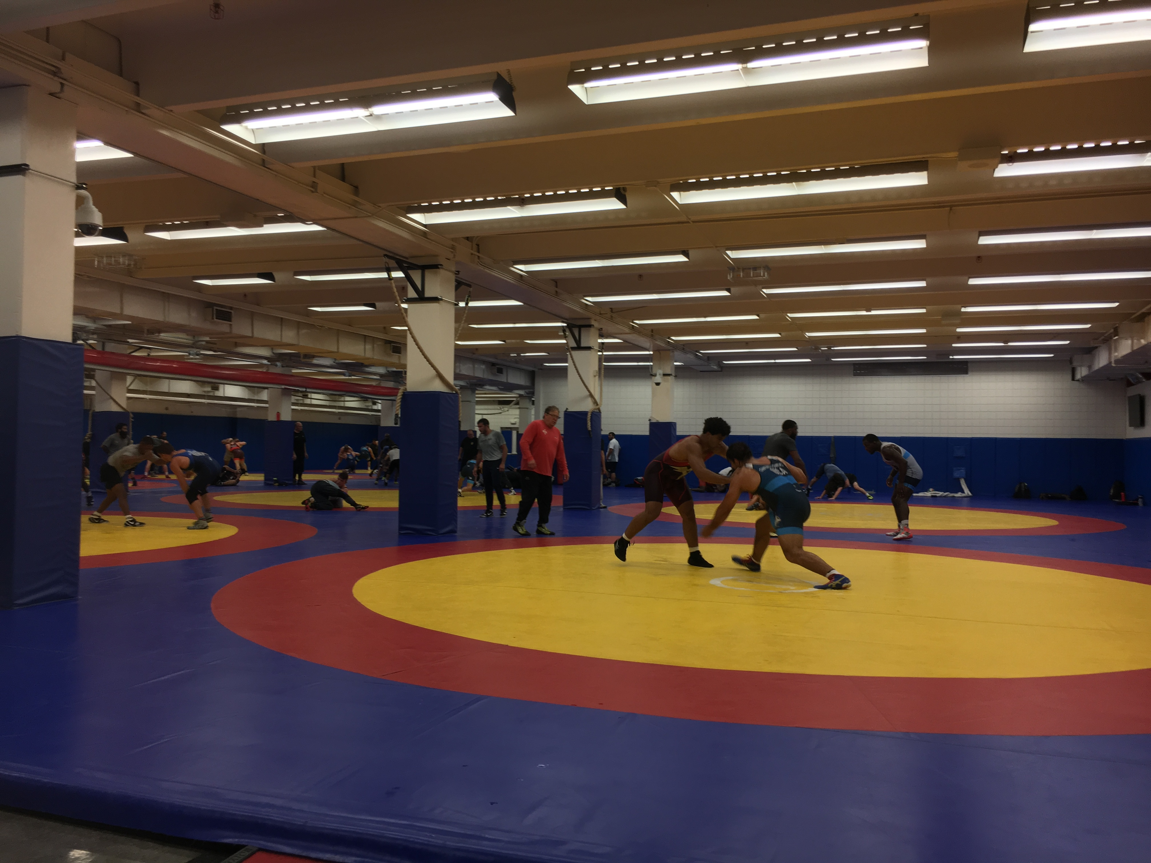 National Team Camp at the Olympic Training Center   Generals Wrestling
