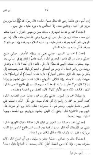 Ar-Ruh - Ibnu Qoyyim al Jauziyah - ahli kubur senang di ziarahi